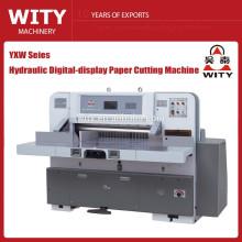 YXW serie de pantalla digital de papel de corte de la máquina
