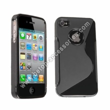 S Shape Case For iPhone 4s