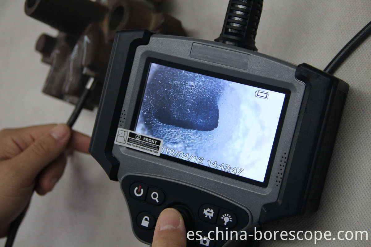 High definition portable videoscope
