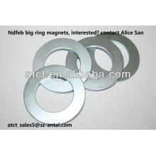 Neodym-Ringmagnet N35, N38, N40, N42, N45, N48, N50, N52 Grade