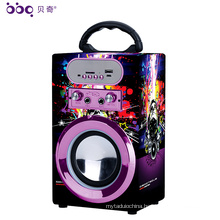 BBQ KBQ-08 10W 1200mAh Home Theater System Speaker Bluetooth DJ Bass Speaker