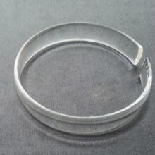 Women Acrylic Jewelry Cuff Clear Cheap Plastic Bangles