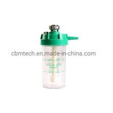 Reusable Chromed-Brass Plastic Oxygen Humidifier