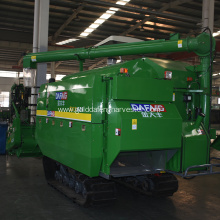 low consumption rice combine harvester high efficiency