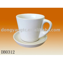 Factory direct wholesale 10oz ceramic mug with lid