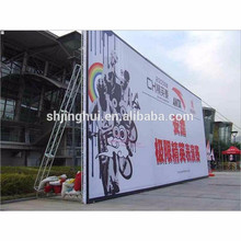 3.2*50m eco solvent printing material die out banner for advertisement
