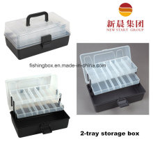 2 Tray Fishing Assortment Box