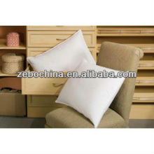 Luxury design direct factory made 100% cotton cover 5 star hotel custom wholesale white square pillow