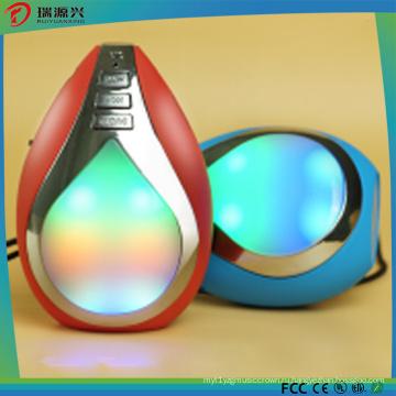 Индивидуальные логотип мода Водослива форма СИД Беспроволочный диктор Bluetooth