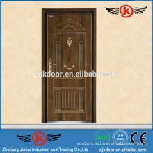 JK-A9041 villa de acero de madera blindada fuerte puerta de la habitación precio