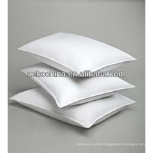 Deluxe design direct factory made 100% cotton custom hotel wholesale feather pillows