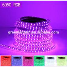 CE RoHs Waterproof RGB IP65 IP67 IP68 led light strip SMD5050 flexible LED strip