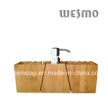Carbonized Bamboo Bathroom Accessory Set (WBB0455A)