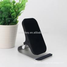 2018 Новый универсальный стенд прочный 2 катушки беспроводное зарядное устройство QI беспроводной зарядки телефона подставка