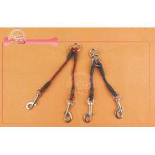 No-Tangle Dual Rope Double Pet Coupler Leash For Two Dog Wa