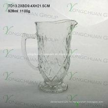 1000ml Glas Saft Krug Nizza Form beliebt