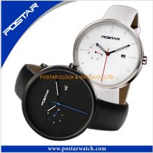 Customized Fashionable Round Dial Quartz Watches