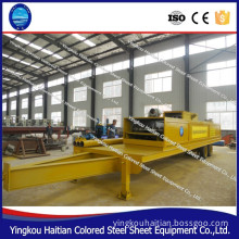 Curved Roof Panel Building Machine