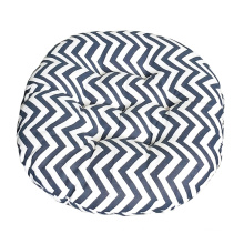 Good quality nordic round cotton and linen style chair cushion for office home