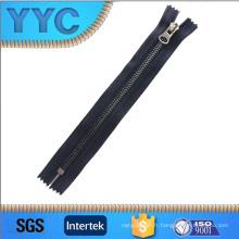 Home Textile, vêtement, chaussures, sacs Utilisation et Open-End Zipper Type 2016 New Style 5 # Open End Y Dents Nickel Metal Zipper