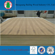 2.5mm Fancy Plywood with Teak Face