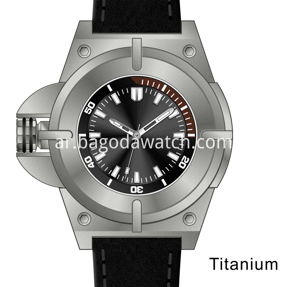 New Titanium Watch