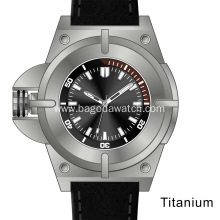 2018 new men titanium watches