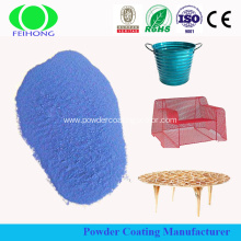 Polyester powder coating by Electrostatic spray gun