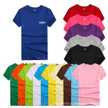 Fabricação de cor personalizada mais barata e logotipo Dri-Fit T-shirt