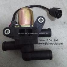 81.61967.0016 valve d'eau de chauffage de camion à benne basculante shacman