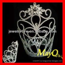 Corona de tiara de cristal grande grande del copo de nieve