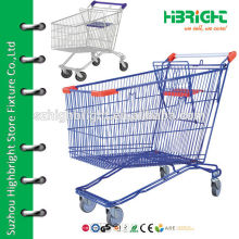 unfolding Style and Steel Material french shopping trolley