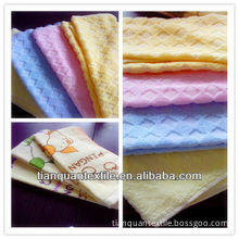 100% cotton terry towelling fabric printed towels