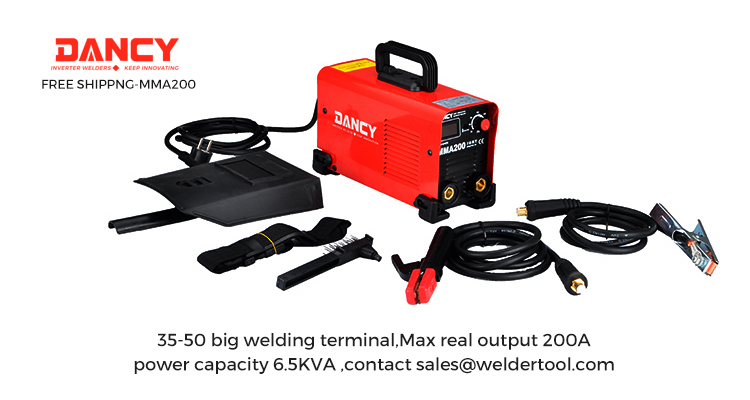 mma200 igbt welding machine