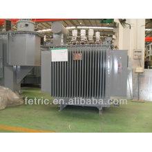 Trifásico inmerso en aceite dyn11 o Yyn0 cobre bobina 33kv 1.5mva transformador