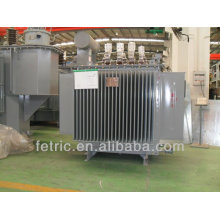 Three phase oil immersed dyn11 or Yyn0 copper winding 33kv 1.5mva transformer