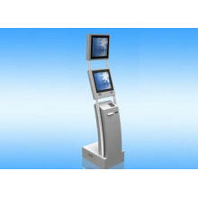 Bank Multi Touch Screen Kiosk With Card Reader / Printer /