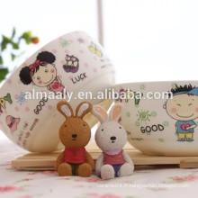 Bol de nouilles en céramique pour enfants