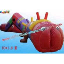 Funny Backyard Outdoor Playground Kids Commercial Big Inflatable Obstacle Course