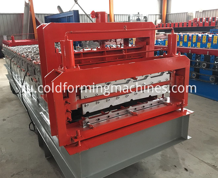 double layer roll forming machine 8