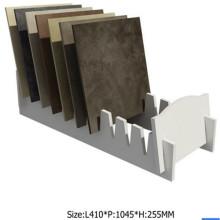 АСД-31 Белая плитка стойка дисплея/ стойки дисплея для Промотирования камень