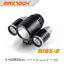 Maxtoch BI6X-2 1400 Lumens Cree XM-L Bike Light T6
