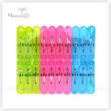 24PCS Colorful Plastic Clothes Pegs