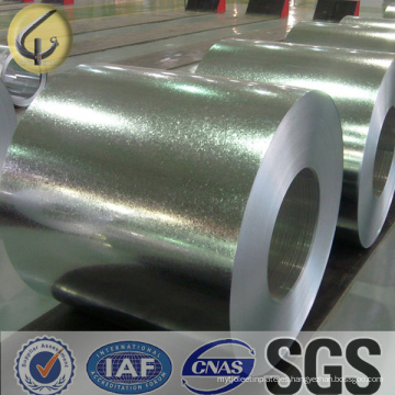 Dx51d Z100 G550/G450 caliente cruce galvanizada acero bobina para construcción