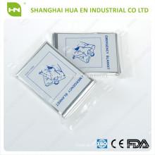 Mylar de aluminio de emergencia mantas CE ISO FDA hecho en China
