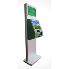 19inch Dual Screen Kiosk with IR Touch, Advertising and Payment Kiosk