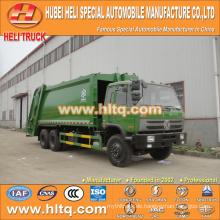 DONGFENG 6x4 16/20 m3 Hochleistungs-Hecklade-Müllwagen-Motor 210hp mit Pressmechanismus