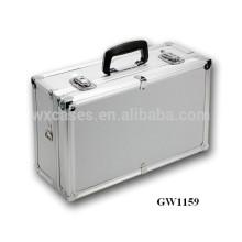 Fabricant chinois de valise aluminium portable argent