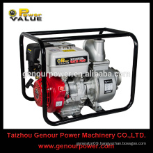Good Price Big Displacement Portable 4 inch gasoline honda engine hot sale agricultural irrigation water pump