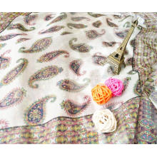 Rome Journal of kidney bean fashion color silk chiffon fabric thin scarf dress DIY tailor fabric
